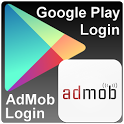 Admob & Google Play login icon