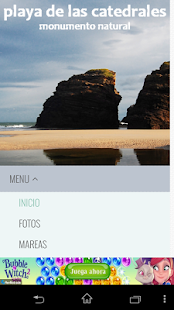 Mareas Playa de Las Catedrales- screenshot thumbnail