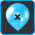 Math Balloons Multiply icon
