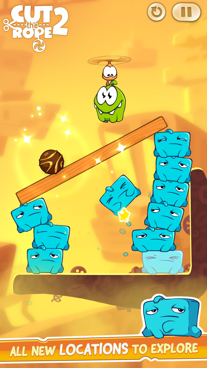 Cut the Rope 2 screenshot #14