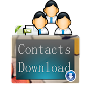 Contacts downloader