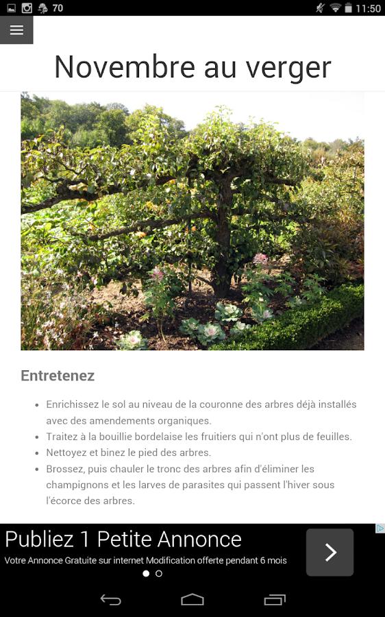 Calendrier du jardin android apps on google play for Jardin google translate
