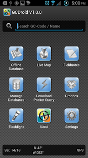 GCDroid - Geocaching – Miniaturansicht des Screenshots