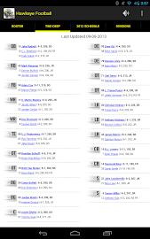 Hawkeye Football Schedule Screenshot 13