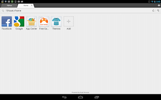 Screenshot of Boat Browser for Android