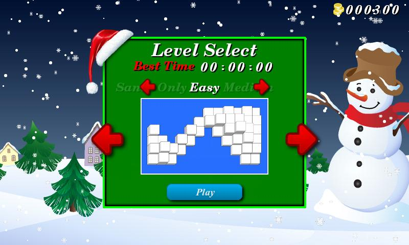 Christmas Mahjong Free- screenshot
