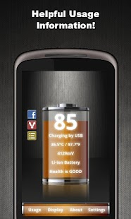 Talking Battery Widget Pro- screenshot thumbnail