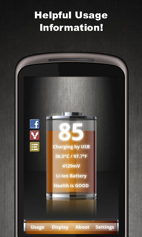 Talking Battery Widget Pro- screenshot
