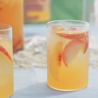 Plum and Nectarine Sangria.