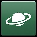 Planet camera icon