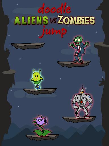 Doodle Alien vs Zombies Jump