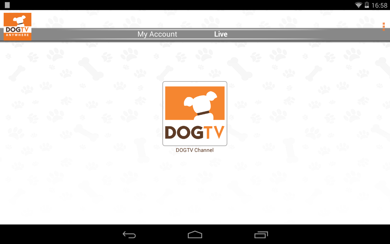 DOGTV Anywhere - screenshot