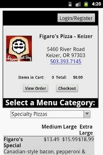 Figaro's Pizza- screenshot thumbnail
