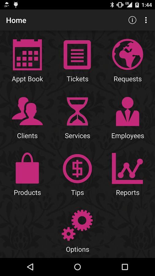 Salon Iris - screenshot