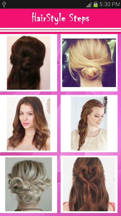 Girls Hairstyle Steps Android Apps On Google Play - Hairstyle design dikhaye