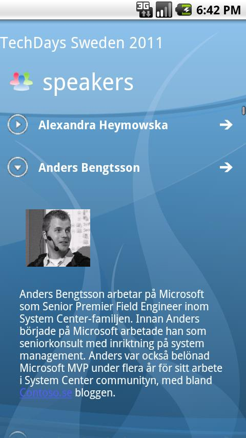 EventBoard - screenshot