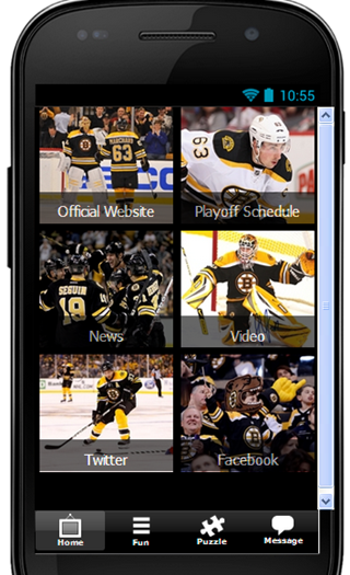 Boston Bruins Fans App - screenshot