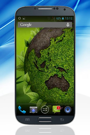 Green Earth Live Wallpaper