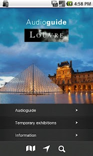 Louvre Audio Guide - screenshot thumbnail