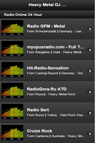 Heavy Metal DJ Radio