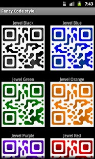 Fancy QR Code - screenshot thumbnail