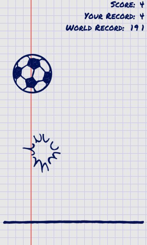 Juggle the Doodle Free- screenshot