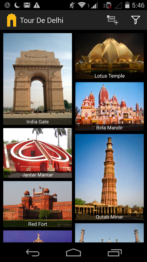Tour De Delhi - Delhi Tourism- screenshot