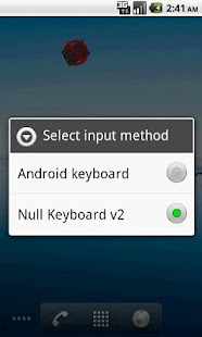 Bluetooth (Null) Keyboard - screenshot thumbnail