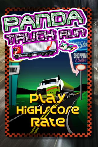 Panda Truck Run