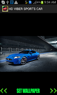HD VIBER SPORTS CAR WALLPAPER - screenshot thumbnail