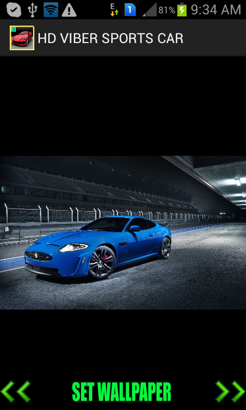 HD VIBER SPORTS CAR WALLPAPER - screenshot