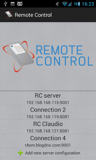 Remote Control for LabVIEW