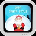 Oppa Santa Style icon