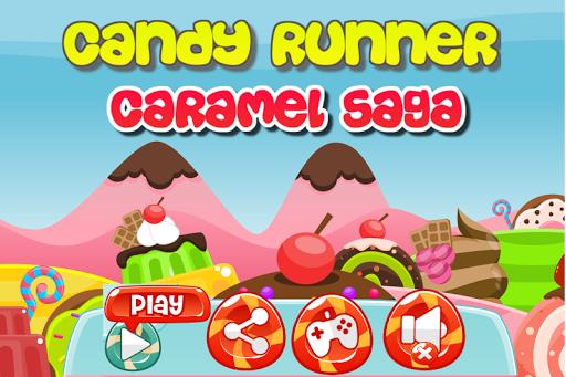 Candy Runner Caramel Saga