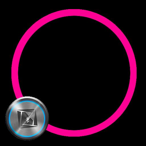 TSF Shell Theme Holo Pink LOGO-APP點子