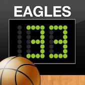 JogoCast Basketball Scoreboard