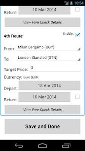 Ryan Flight Fare Watch screenshot 13