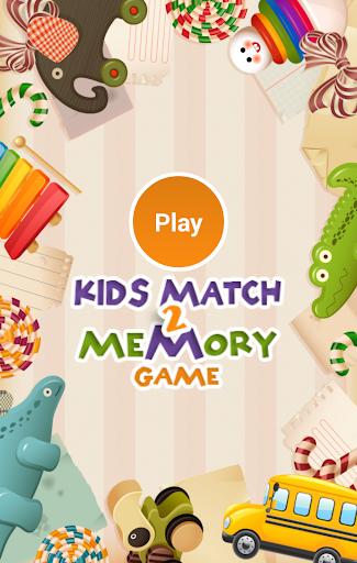 Kids Match 2 Memory Game