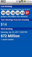 Screenshot of Powerball Scanner Lite