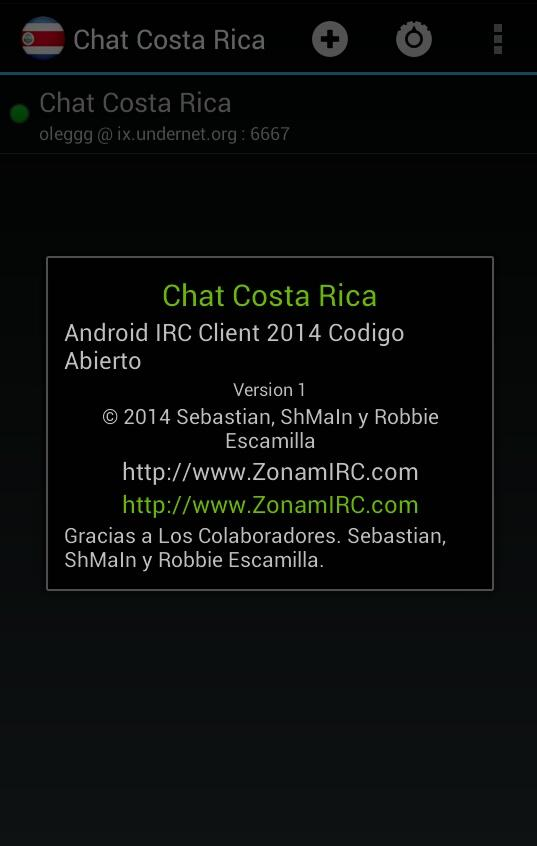 Chat Costa Rica- screenshot