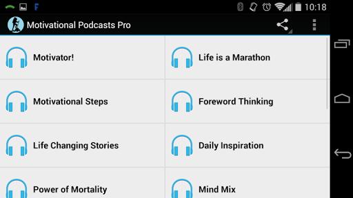 Motivational Podcasts Pro