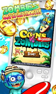 Coins vs Zombies Summer- screenshot thumbnail