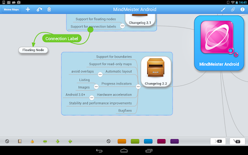 MindMeister (mind mapping) - screenshot thumbnail