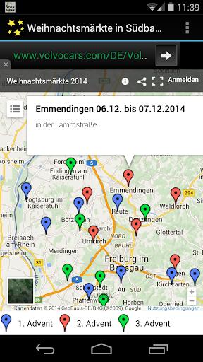Weihnachtsmärkte in Südbaden