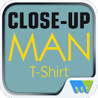 Close-Up Man T-Shirt icon