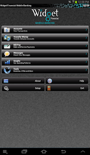 Widget Financial Mobile - screenshot thumbnail