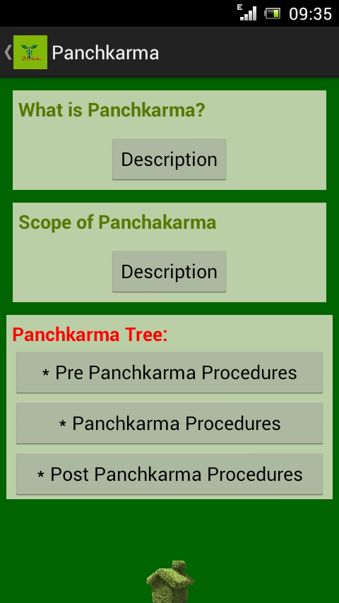Panchakarma- screenshot