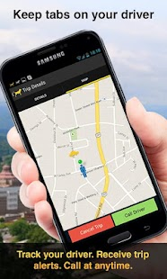 Cab Hound - The Taxi App- screenshot thumbnail