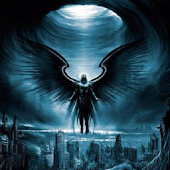 Dark Angel 3D Live Wallpaper