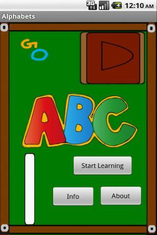 Alphabets Board- screenshot